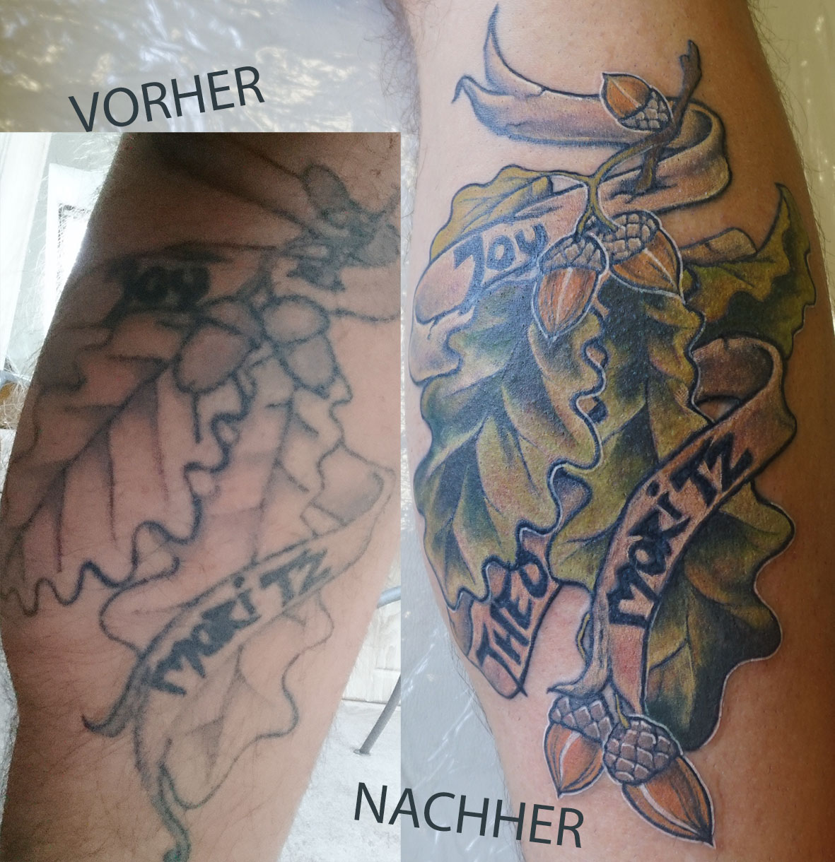 Cover Up Eicheln