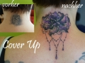 Cover Up Bluete Nacken